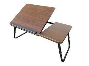 laptoptisch notebooktisch betttisch klappbar notebook laptop bett tablett tisch ebay. Black Bedroom Furniture Sets. Home Design Ideas