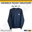 Carhartt-Men-039-s-Crewneck-Pocket-Sweatshirt-Warm-Super-Soft-Fleece-Lined-103852 thumbnail 6