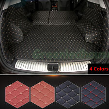 All Cover Leather Car Cargo Rear Trunk Mat Boot Liner Tray For Honda CR-V 12-17