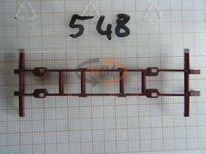 10x ALBEDO Ersatzteil Ladegut Hilfsrahmen Koffer Wechselbrücke H0 1:87 - 0548