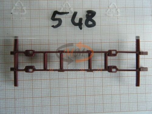 30x ALBEDO Ersatzteil Ladegut Hilfsrahmen Koffer Wechselbrücke H0 1:87-0548