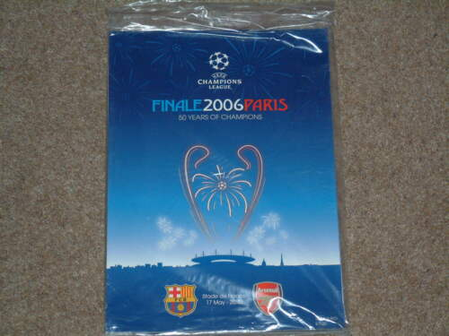 2006 Champions League Final Arsenal v Barcelona With Supplement Mint Original