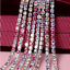 10Yard-Colorful-Crystal-Rhinestone-Close-Cup-Chain-Trim-Claw-Chain-Jewelry-Craft thumbnail 18