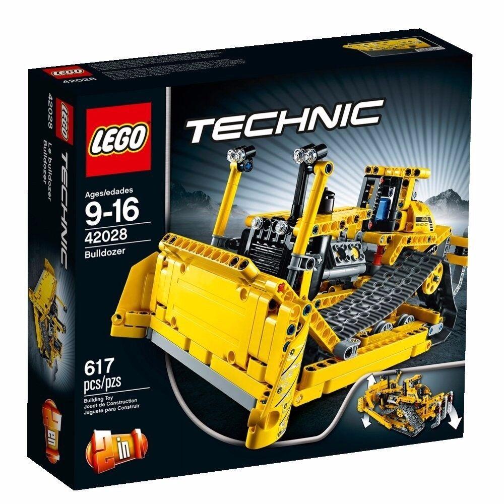 Eldo Lego (Lego) técnica Bulldozer 42028