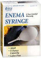 Cara Enema Syringe Adult 8-ounce No. 14 1 Each (pack Of 8)