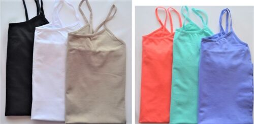 3-pack Dream Cami Size S//M L//XL Extra Long Stretch Seamless Tank Top Camisoles