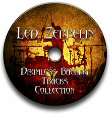 LED ZEPPELIN STYLE ROCK METAL DRUMLESS MP3 BACKING TRACKS REHEARSAL DRUMS JAM