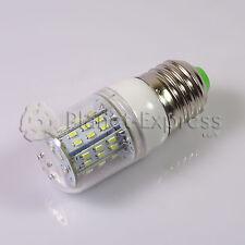 Bombilla E27 6W 48 LED SMD 3014 Blanco Frio 12V/24V Barco, Frigorifico, Campana