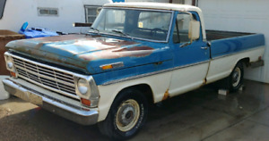 1969 F100 for sale or trade for Quad