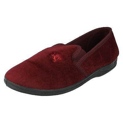 Herren Four Seasons ohne Bügel Seite elastische Keil Rund Slipper Schuhe Bruce