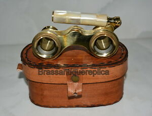 BRASS-BINOCULAR-VINTAGE-CLASSIC-OPERA-THEATER-GLASSES-MOTHER-OF-PEARL