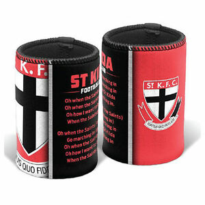 St-Kilda-Saints-AFL-Team-Song-Stubby-Can-Cooler-AFL-OFFICIAL-MERCHANDISE