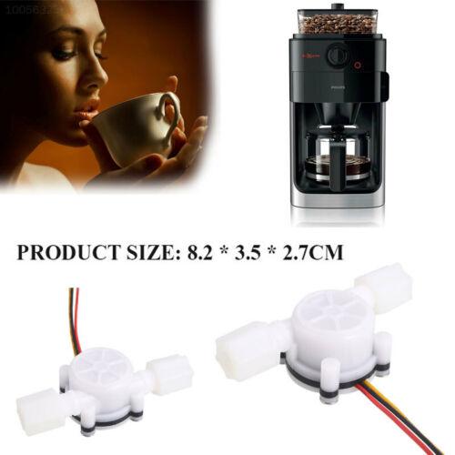 7D54 Aufnehmer Wasserdurchflusssensor 3V Kunststoff Weiß Schalten Einstellen Für