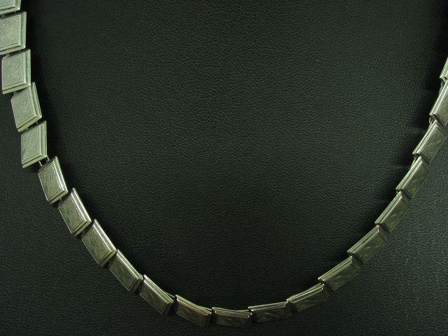 800 silver Collier   Echtsilver   41,9cm   22,4g