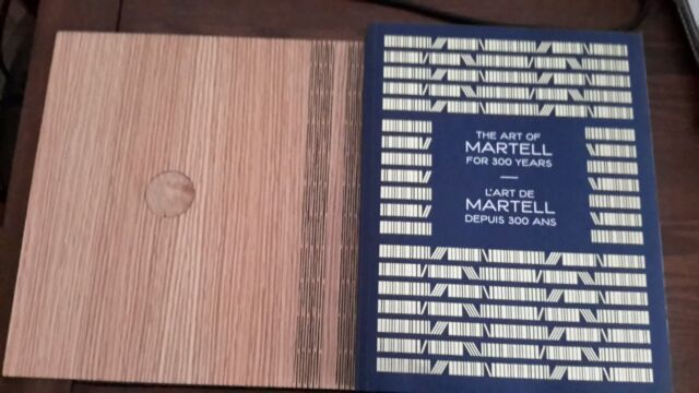 The Art of Martell Cognac For 300 Years Wooden Bound Cover New
