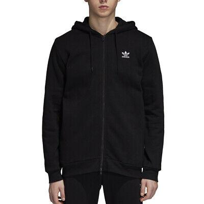 Sweat Hommes Adidas Originals Toison Trefoil à Capuche Noir Code DN6016   eBay