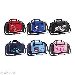 7f47492f7ff La imagen se está cargando Bolsa-Deporte-para-Ninos -Adolescentes-Name-Motivo-Gimnasia-