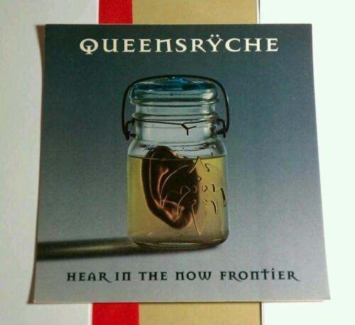 QUEENSRYCHE HEAR IN THE NOW FRONTIER JAR HEART EMI AMP CASE STICKER