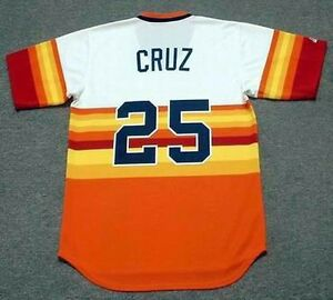 67f7dcfb Image is loading JOSE-CRUZ-Houston-Astros-1980-Majestic-Cooperstown-Home-