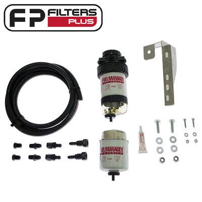 FM614DPK Fuel Manager Kit Removes 99/% water from Diesel Landcruiser 200 Series