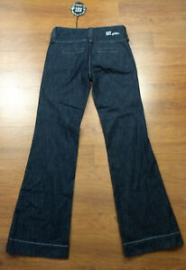 Jeans Triple Kut Størrelse Wash Kloth Dark fra Front 2 Zip Blue Denim Button xnq4fwBZq