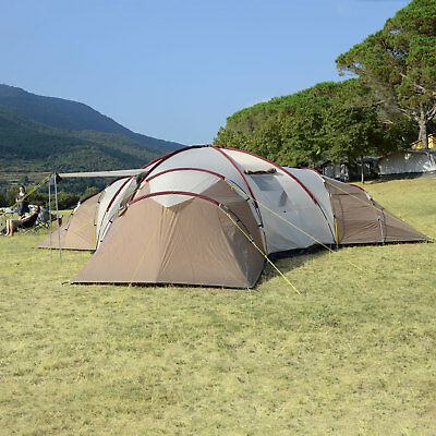 KY Tenda Campeggio Tenda a Cupola Premium con Pali in