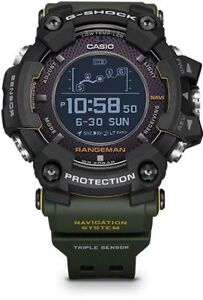 CASIO G-SHOCK - RANGEMAN - GPR-B1000-1BDR - GPS GREEN New 2018 Model