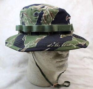 26c66f25dea US Vietnam Tiger Stripe Camo Boonie Hat Sun - Authentic Reproduction ...