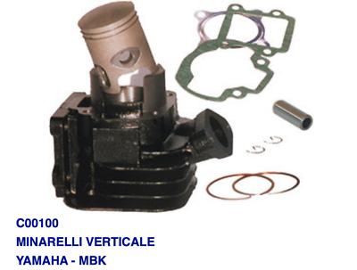 C00500 Kit Cilindro Motore Per Yamaha Ew Slider 50 00-02 Tecniche Moderne