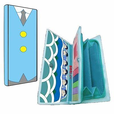 Mr.Osomatsu San Suit Pattern Wallet Six Faces Clutch Anime Foldable Long Purse