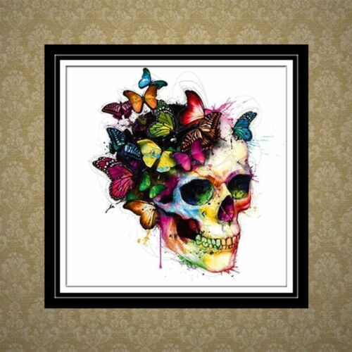 Skull DIY 5D Diamond Painting Embroidery Cross Stitch Home Decor Needlework