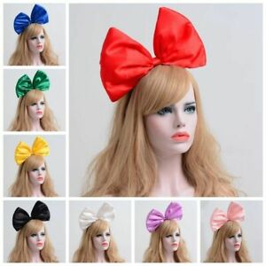 Details about Oversized Super Giant Big Bow-knot Hair Party Photo Props  Kiki Cosplay
