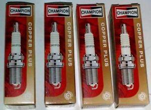 OE005-KIT-4-CANDELE-CHAMPION-FIAT-PUNTO-PANDA-500-600-CC-1100-1200-RC9YC