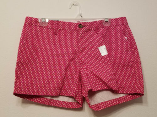 "Old Navy Everyday Pink Floral Shorts 3.5/"" inseam Sz 6 NWT"
