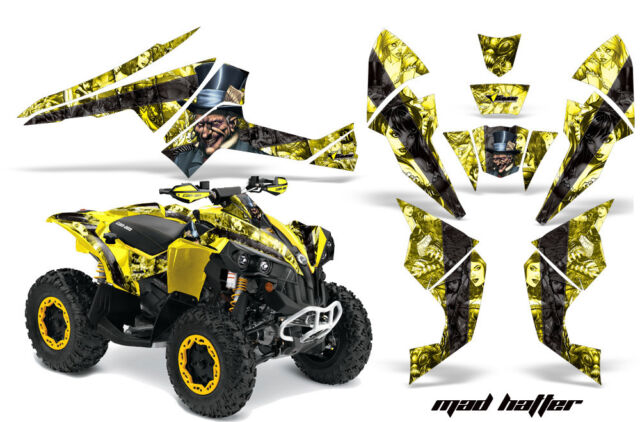 ATV Decal Graphics Kit Quad Wrap For Can-Am Renegade 500 X/R 800X/R 1000 MAD K Y