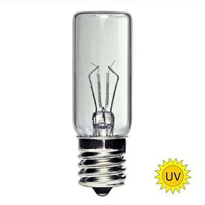 3W 3 watt UV Germicidal Light Bulb Lamp GTL3 E17 Base 728360531797 ...