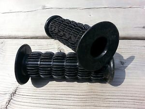 VINTAGE-OLD-SCHOOL-BMX-BICYCLE-MX-MOTOCROSS-GRIP-GRIPS-FEELERS-NOS-OLDSCHOOL-BMX