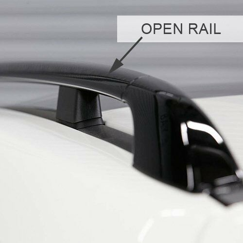 Lockable Aluminium 135cm Roof Rail Bars /& Car Rack Tray for Nissan Qashqai 2014/>