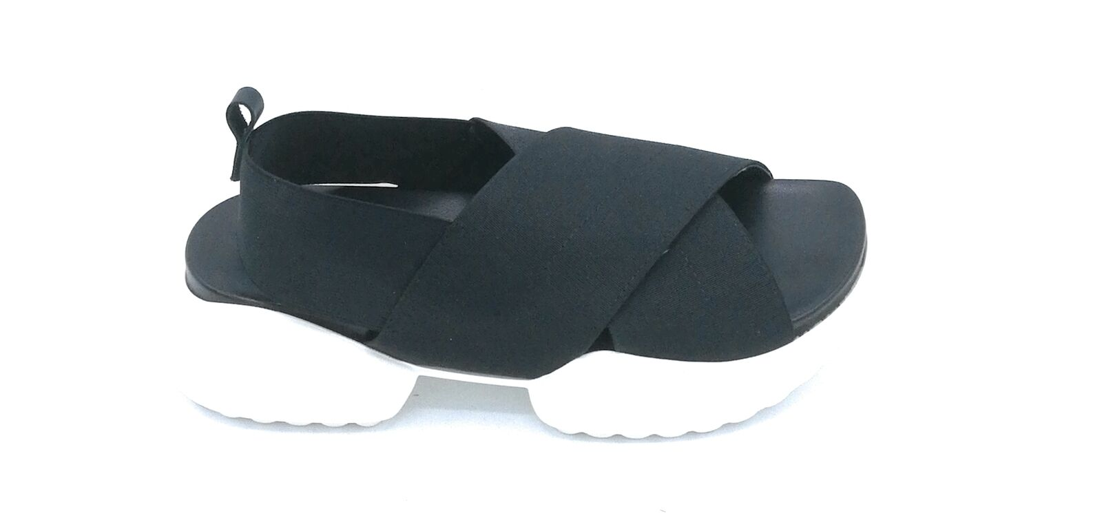 Ovyè MV8774 sandal sandal sandal stretch black-nude   black with rubber sole white 56b6b5