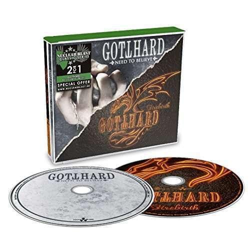 Gotthard - Need To Believe / Firebirth Nuevo CD