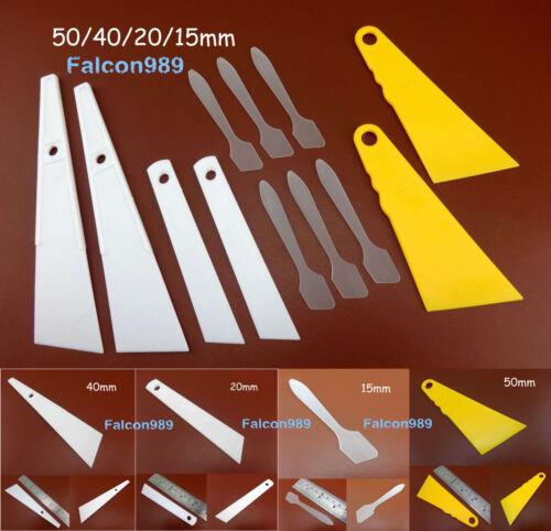 3kinds Leathercraft Uniform Smear Board Glue Gumming Spreader Oil Dye Brush Tool