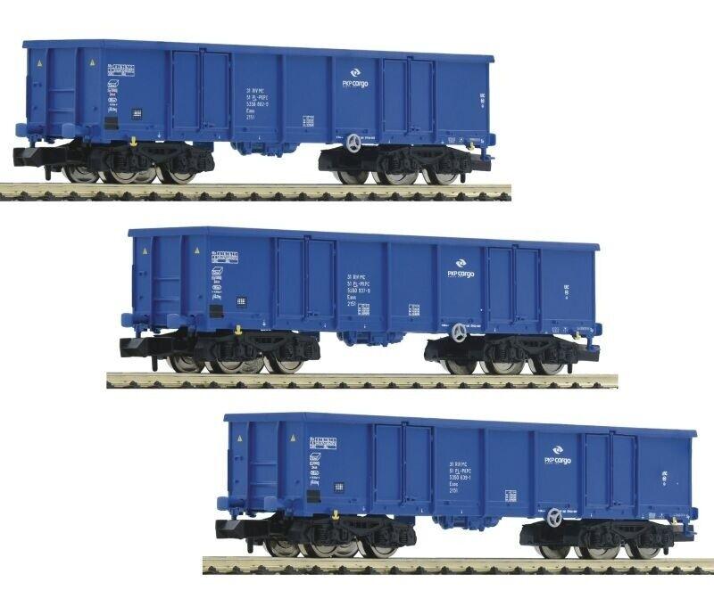gran selección y entrega rápida Fleischmann 852329 3 piezas set  abierta abierta abierta la vagones PKP Cochego, DC, pista n  salida