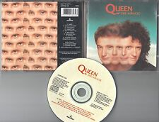 """Queen CD THE MIRACLE  (c)  1989  EMI   INKl. EXTRA TRACKS  12"""""""