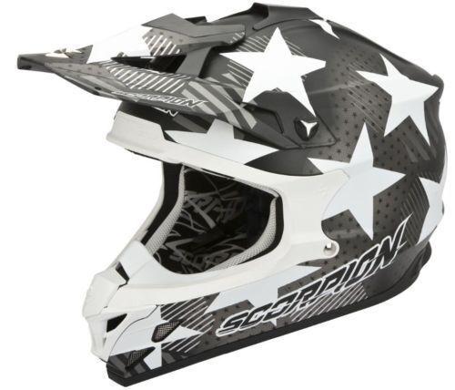 HELMET CROSS MOTORRAD KTM ENDURO SCORPION VX 15 EVO AIR STADIUM GRIGIO
