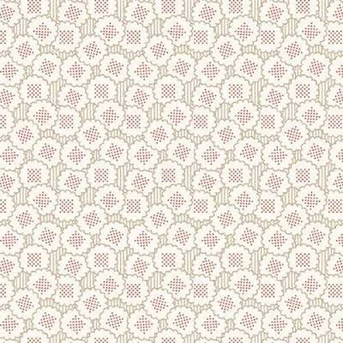 The Downstairs Collection 7600 R  Cotton Fabric BTY Andover Downton Abbey 2