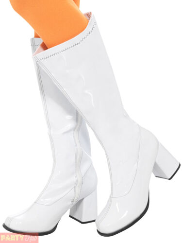 Femmes Plate-forme 70 S Chaussures Adultes 60 S Gogo boots hippie accessoire robe fantaisie