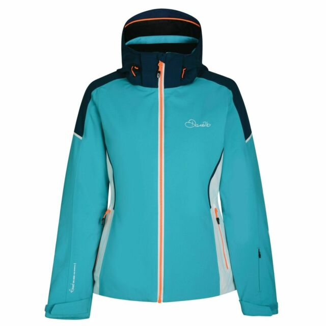 DARE2B Jacke Contrive Skijacke Snowboardjacke für Damen Größe 40 46 hellblau