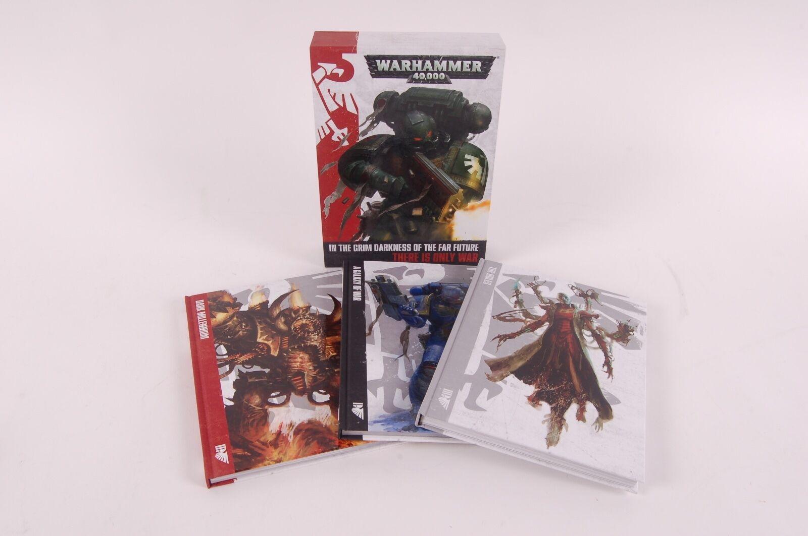 Warhammer 40k 3 Book Hardcover Rulebook Set Rules Galaxy of War Dark Millennium