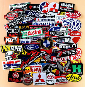 Iron-On-Patch-Sew-Embroidered-Motor-GP-Racing-Motorcycle-Bike-Logo-amp-Sponsor