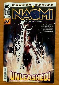 NAOMI-5-Jamal-Campbell-Main-Cover-A-1st-Print-DC-Comics-2019-NM